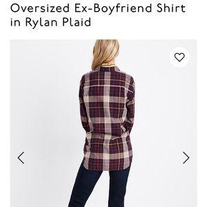 Madewell oversized shirt